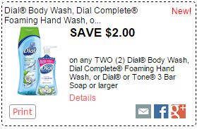 picture regarding Dial Printable Coupon identify Clean Dial Coupon \u003d Hand Cleaning soap for $0.99 at Kroger! Kroger Krazy