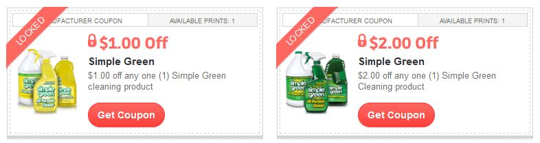 simple green coupon