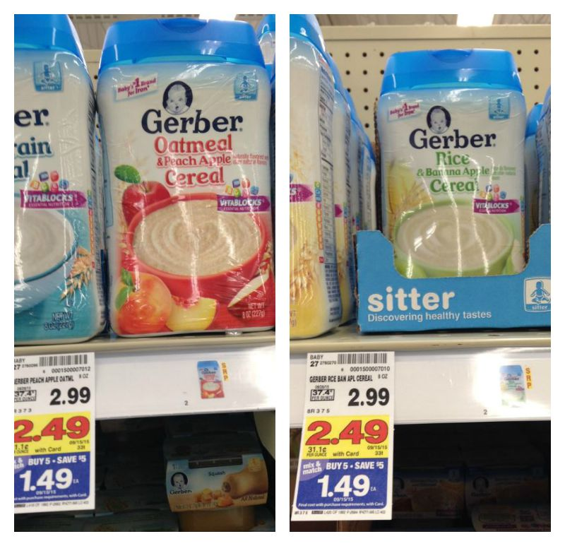 Gerber cereal coupons 2018