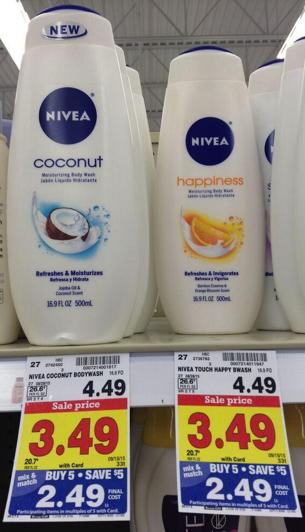Nivea Body Wash Only $0.99 During Kroger Mega Sale!! - Kroger Krazy