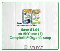 organic coupon