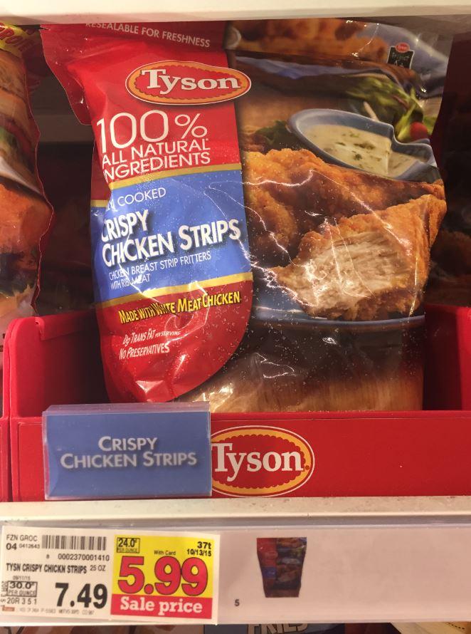 Tyson crispy chicken strips coupon 2018