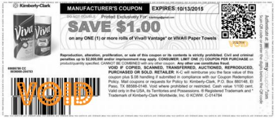 New 1 Off Any Viva Paper Towel Coupon Kroger Sale 6 Rolls As Low
