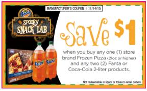 Coca-Cola/Frozen Pizza Coupon