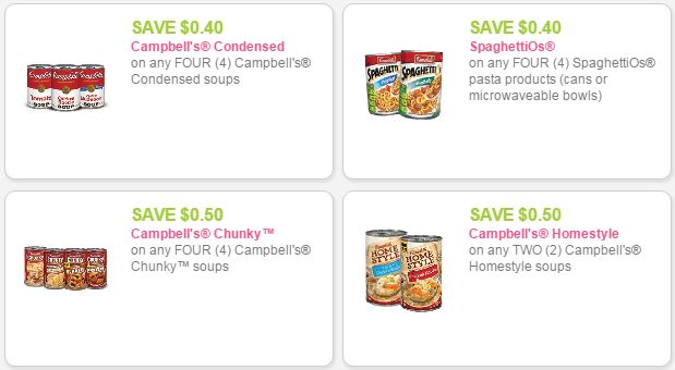 campbells coupons