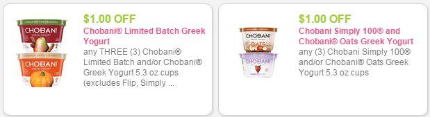 chobani coupon