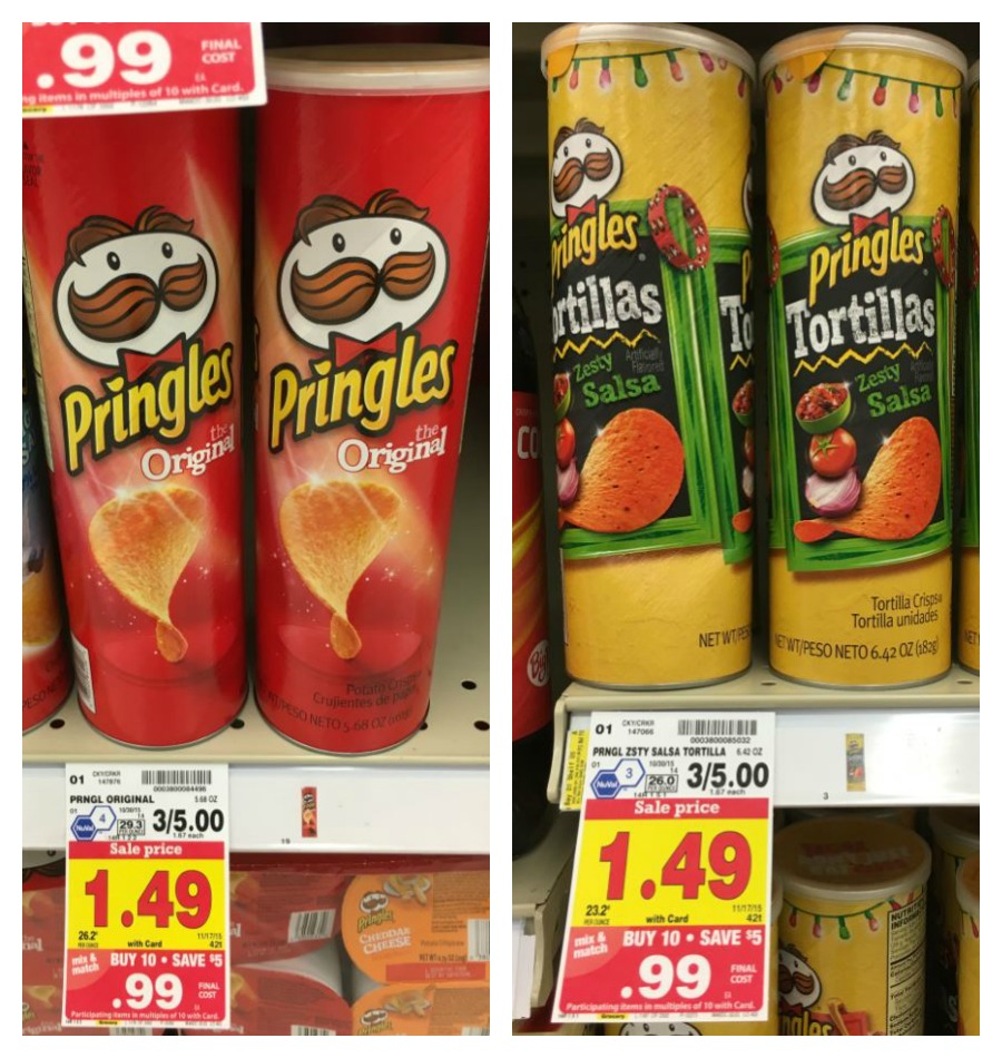 NEW Pringles Coupon = Snacks as low as $0 45 with Kroger