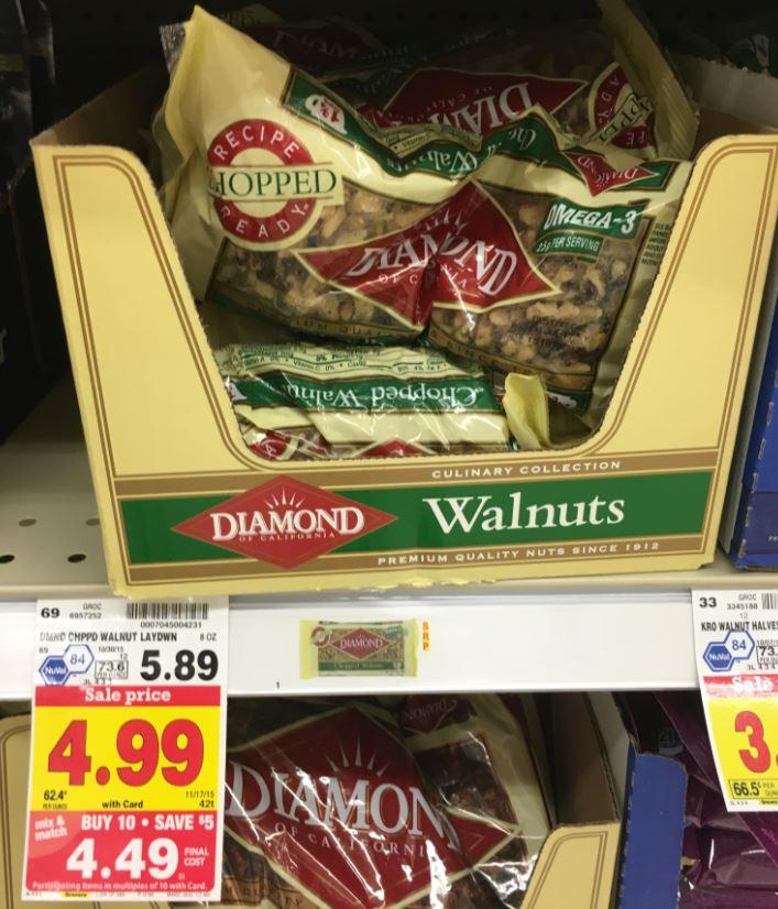 Blue diamond walnuts coupon