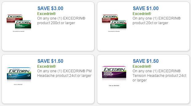 Excedrin Headache Medicine as low as $1 69 at Kroger