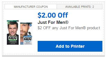 By opting in, you are subscribing to the Just For Men Rewards email program and will receive occasional emails only from Just For Men containing brand updates, coupons, special offers, surveys, launches, etc. You can always opt out of the program at any time.