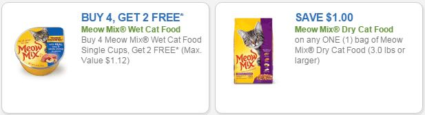 picture about Meow Mix Coupon Printable identify Refreshing Meow Incorporate Cat Discount codes + Kroger Bargains!! Kroger Krazy