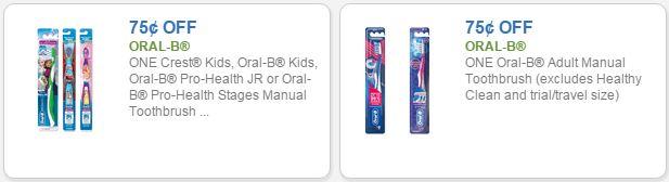 oral b coupons