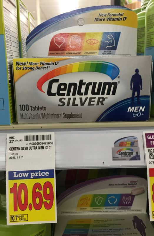picture relating to Centrum Coupon Printable identify Centrum nutrients bargains : Modells coupon code 2018
