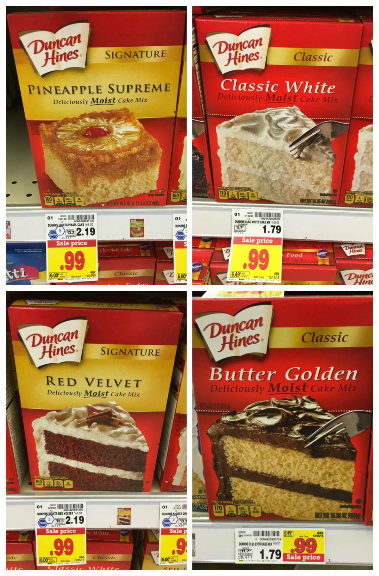 Duncan Hines Cake Mix On Sale