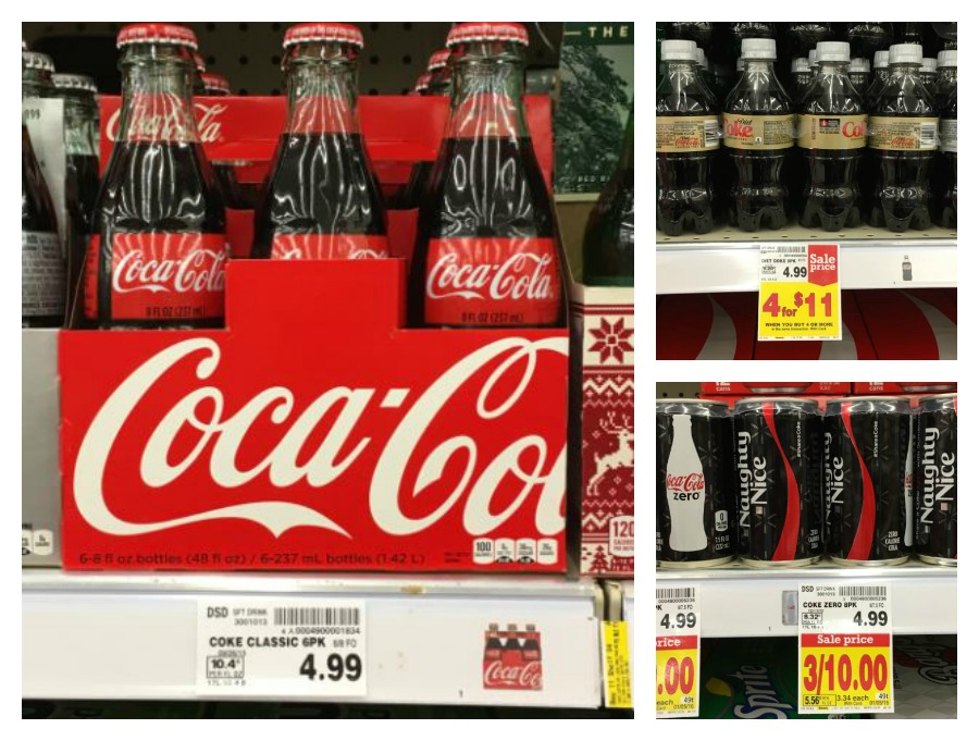 Coca-Cola Coupon = Soda/Pop for as low as $2 25 at Kroger