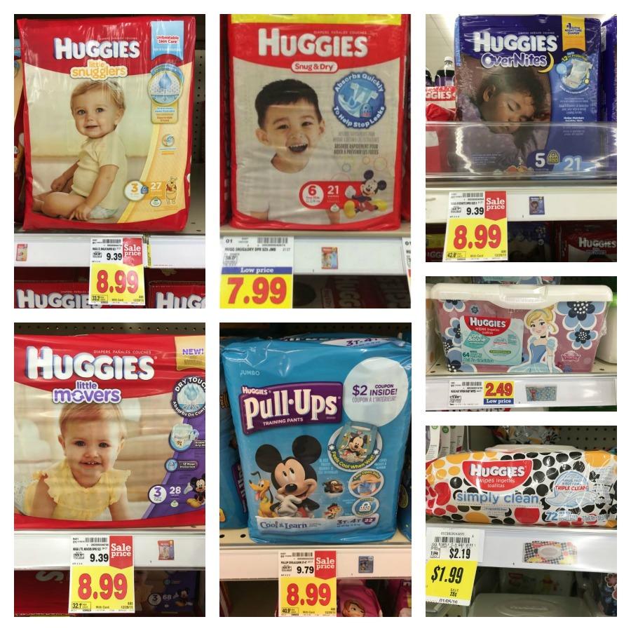 huggies collage