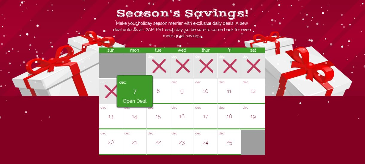 25 Merry Days with Kroger - Grab Exclusive Daily Deals! - Kroger Krazy