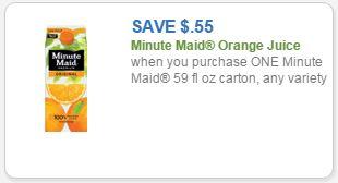 minute maid oj coupon