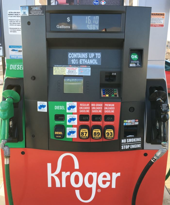 Tank Of Gas Too Much Prescription >> How Do Kroger Fuel Points Work Kroger Krazy