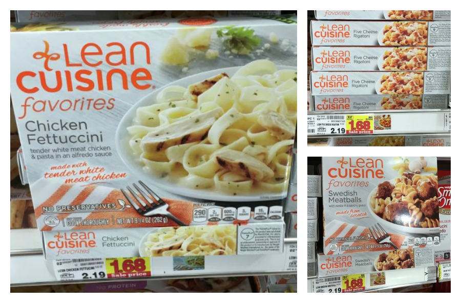 Lean cuisine frozen meals only at kroger kroger for Are lean cuisine meals healthy