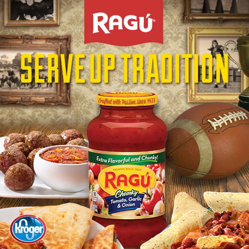 Get Ragu Ready For Your Game Day Celebration