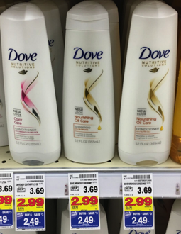 Dove Shampoo, Conditioner and Stylers Only $0.99 each at Kroger!! - Kroger Krazy