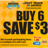 Kroger Buy 6, Save $3 Mega Event Full Inclusions List
