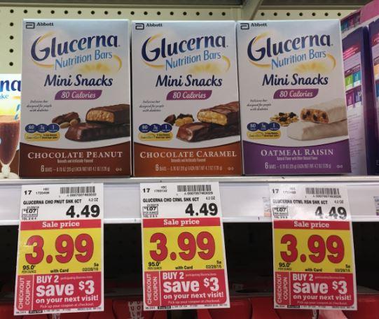 Glucerna Catalina Mini Snacks For Only 0 99 At Kroger Kroger Krazy