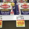 Mueller's Pasta ONLY $0.50 at Kroger!