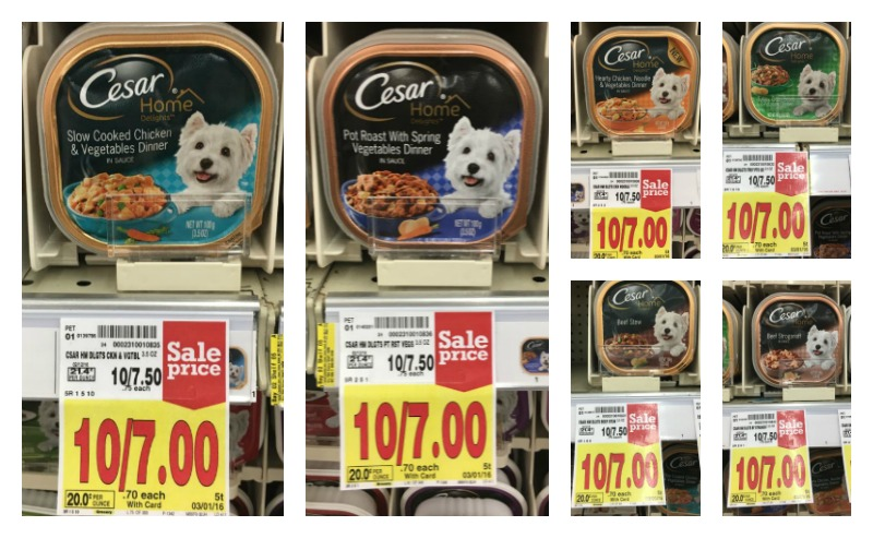 picture about Caesars Dog Food Printable Coupons titled Fresh new Cesar Coupon \u003d Soaked Pet dog Food items for $0.35 at Kroger