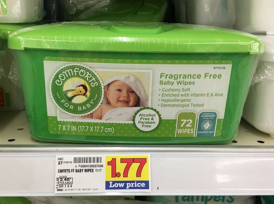 Comforts Baby Wipes