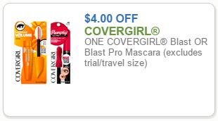 New 4 Covergirl Coupon Mascara For As Low As 1 99 At Kroger Kroger Krazy