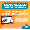 Reminder!  Download your 5X Digital Coupons!!