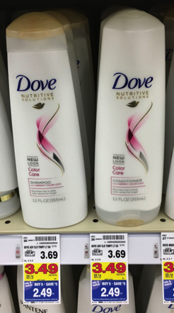 Dove Shampoo and Conditioner Only $0.99 During Kroger Mega Sale! - Kroger Krazy
