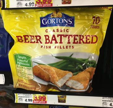 Gorton 39 s fish items only each at kroger kroger krazy for Gorton s fish coupons
