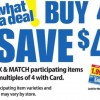 Kroger Mega Event Buy 4, Save $4 Full Inclusion List