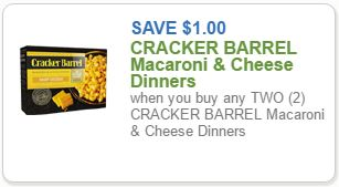 photograph about Cracker Barrel Coupons Printable named Clean Cracker Barrel Coupon \u003d Macaroni Cheese for $2.49 at