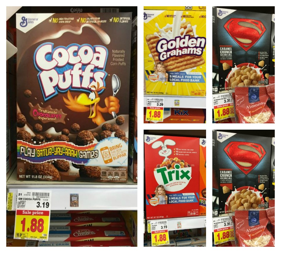 Big G Cereals As Low As $1.13 At Kroger!!