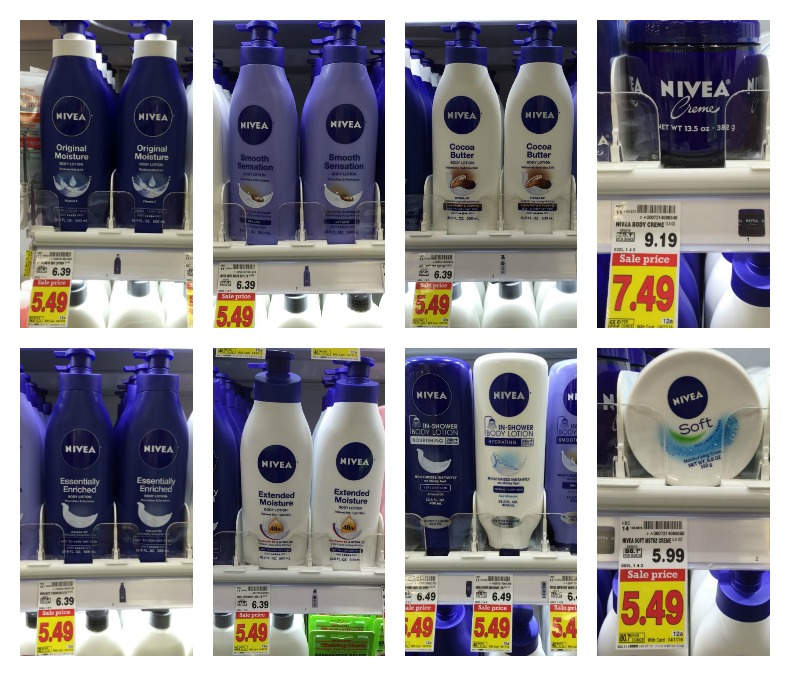 Nivea Body Lotion or Creme as low as $3.99 at Kroger!! - Kroger Krazy