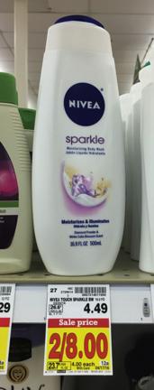 Nivea Men's & Women's Body Wash Only $2.50 (Reg Price $4.49)!! - Kroger Krazy