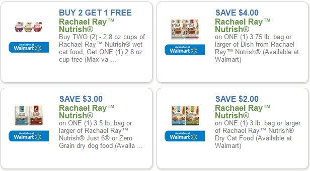 Rachel ray dog food coupons