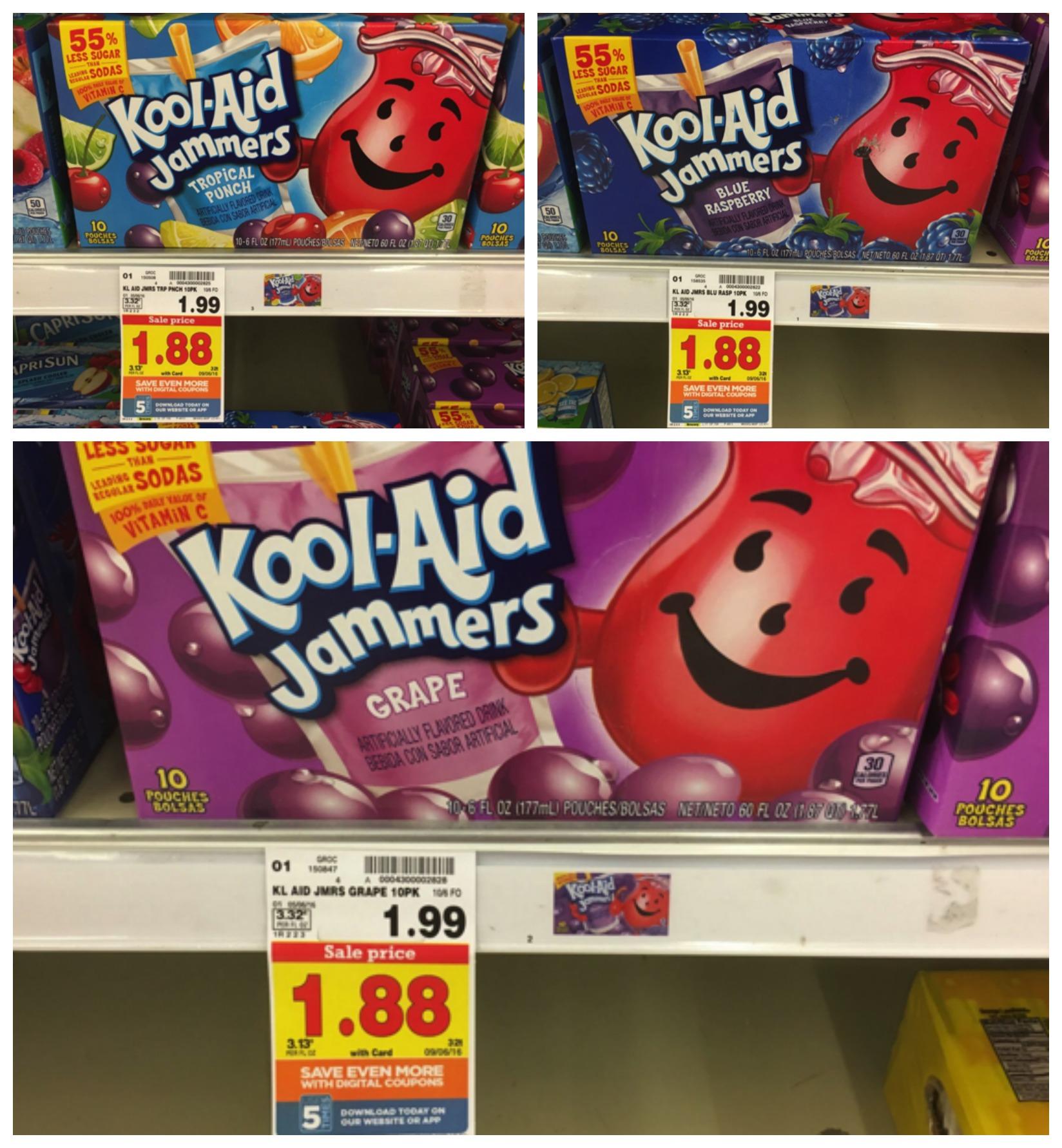 kool-aid jammers collage