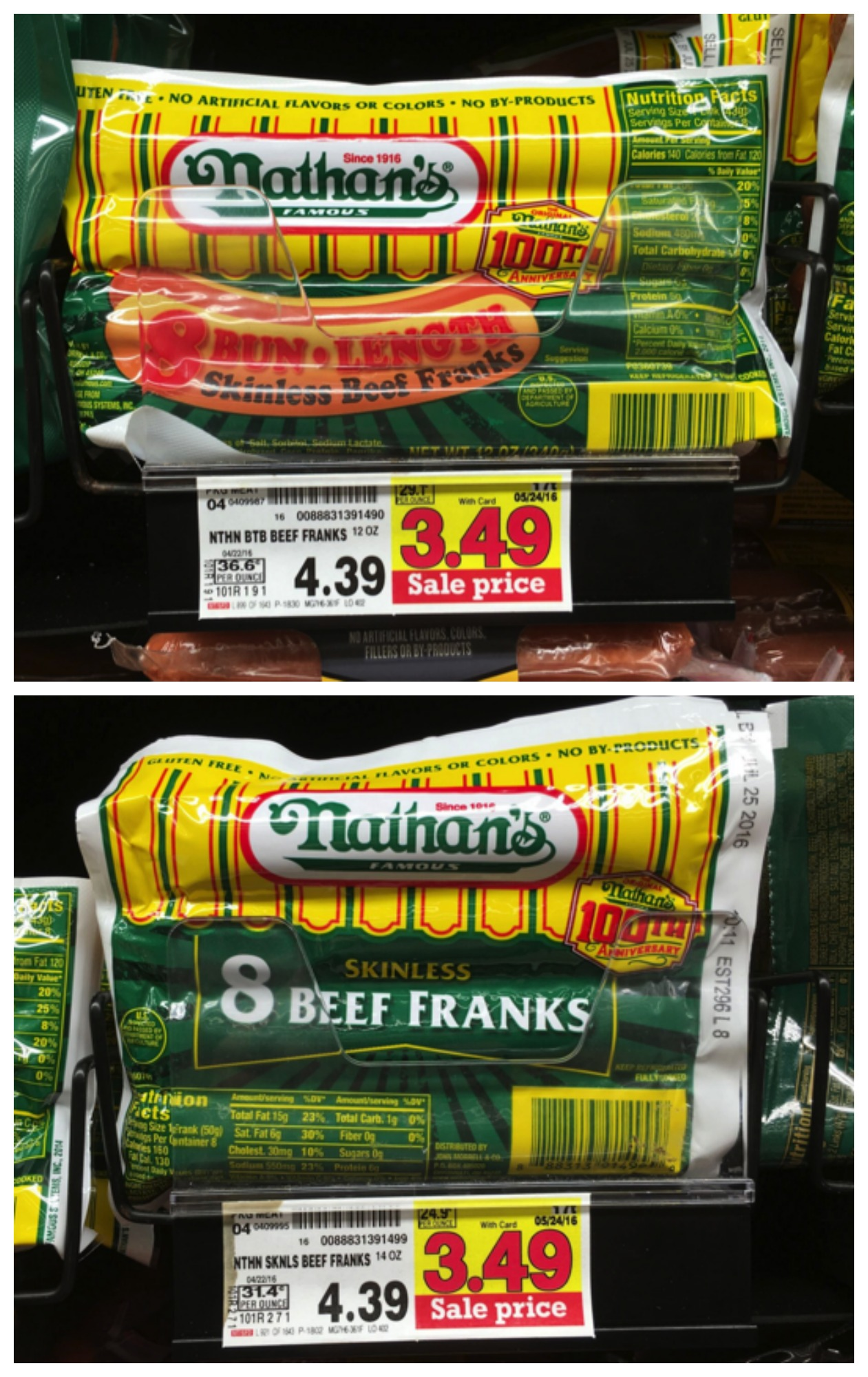 photograph relating to Nathans Printable Coupons referred to as Refreshing Nathans Scorching Doggy Coupon + Kroger Sale Information!! Kroger