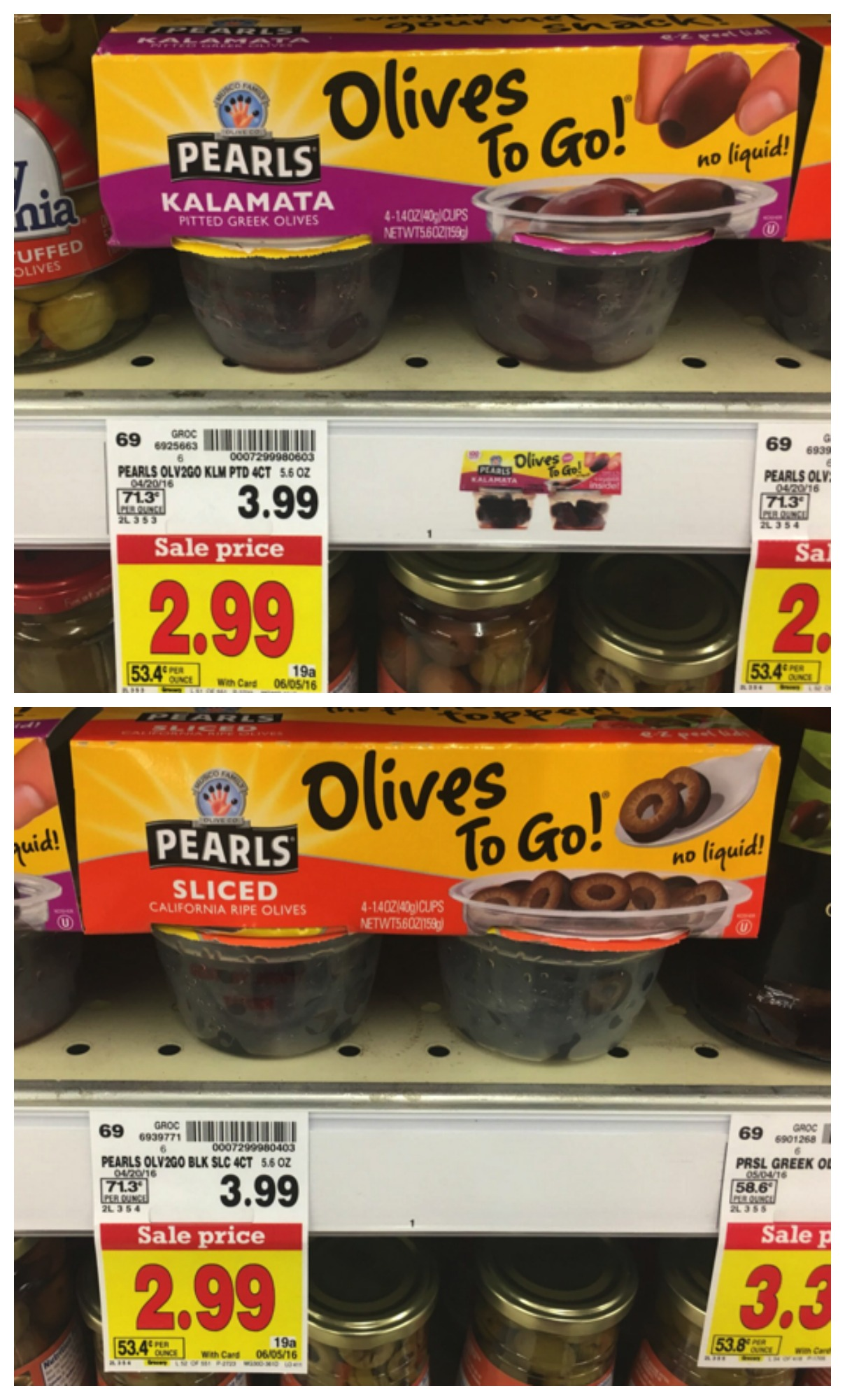 pearl olives to go!