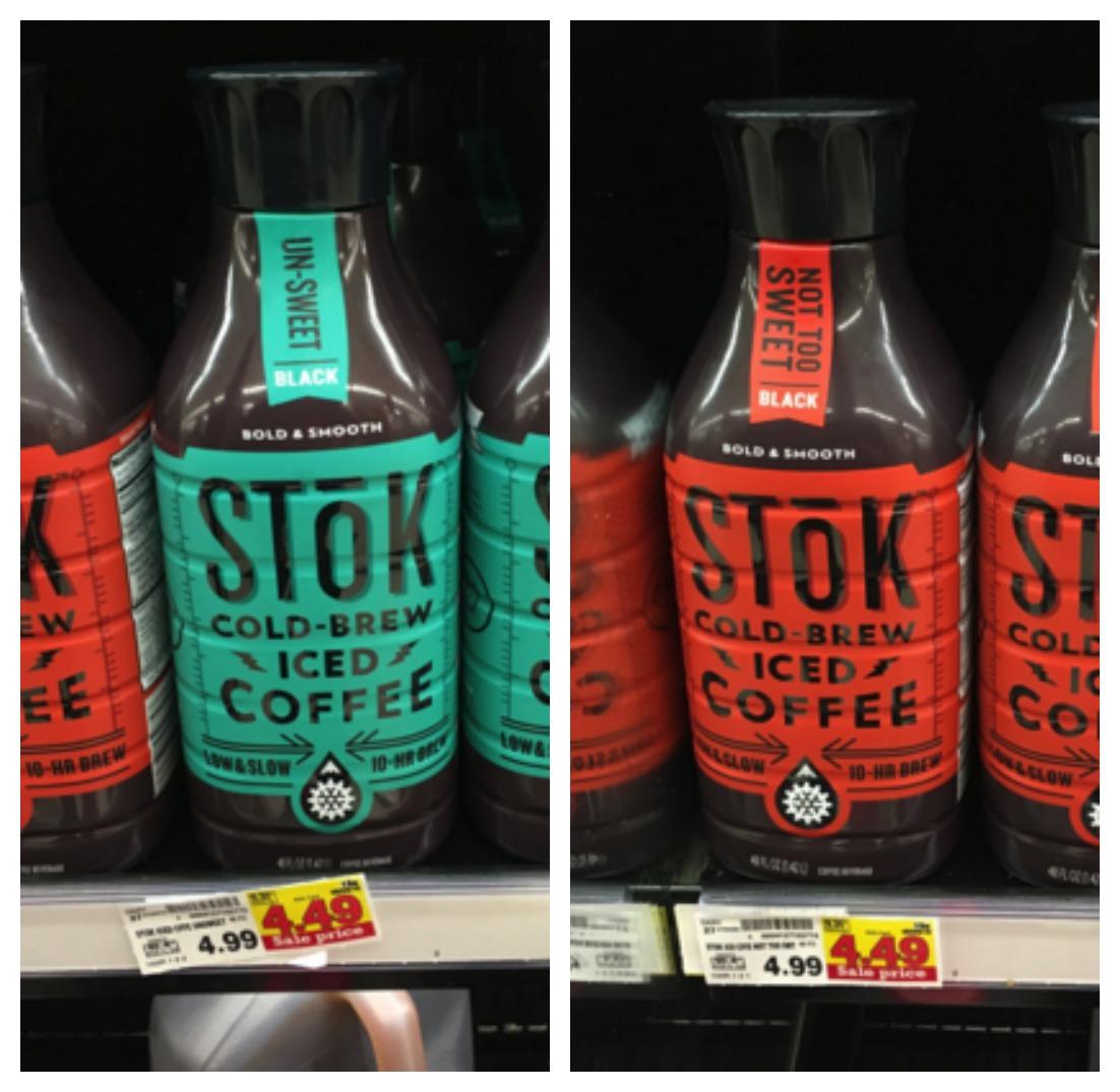 stok iced tea collage