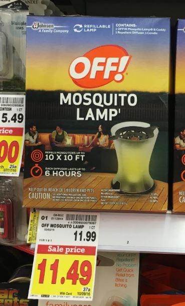 Off Mosquito Lamp (1 Ct) U2013 $11.49 (thru 10/9)