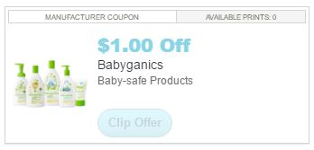 photo regarding Babyganics Coupon Printable named Babyganics Coupon \u003d Merchandise as reduced as $4.99 at Kroger