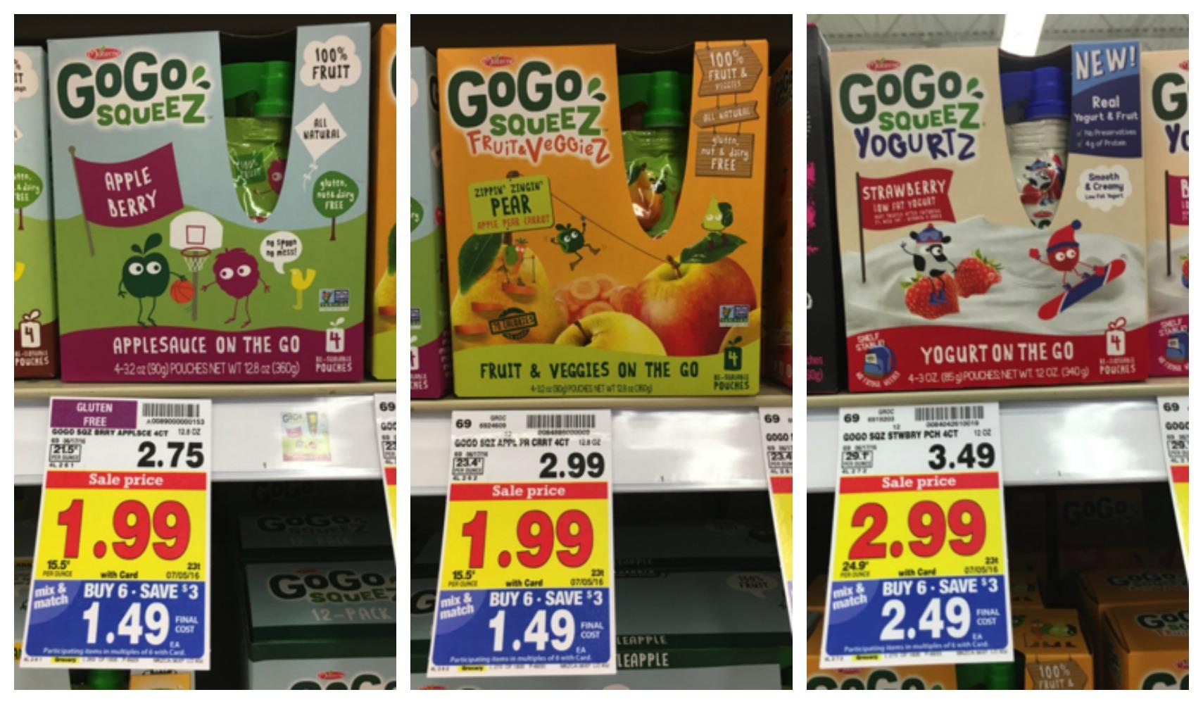 GoGo Squeeze collage
