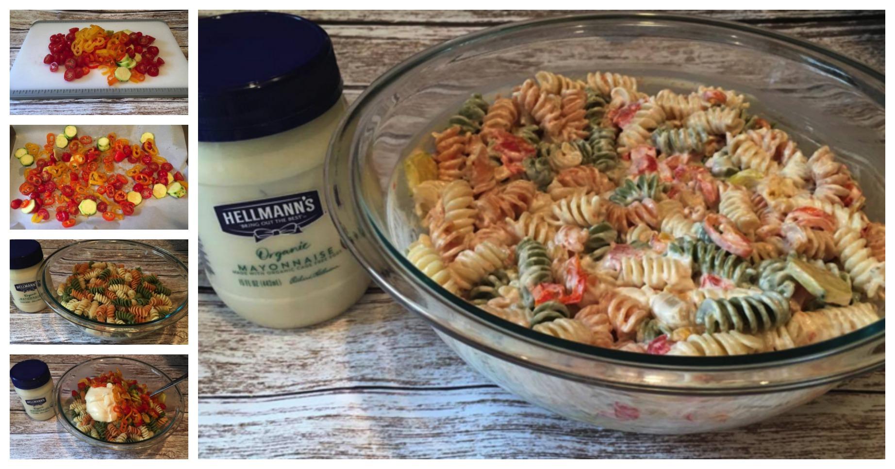 Hellmann's recipe collage