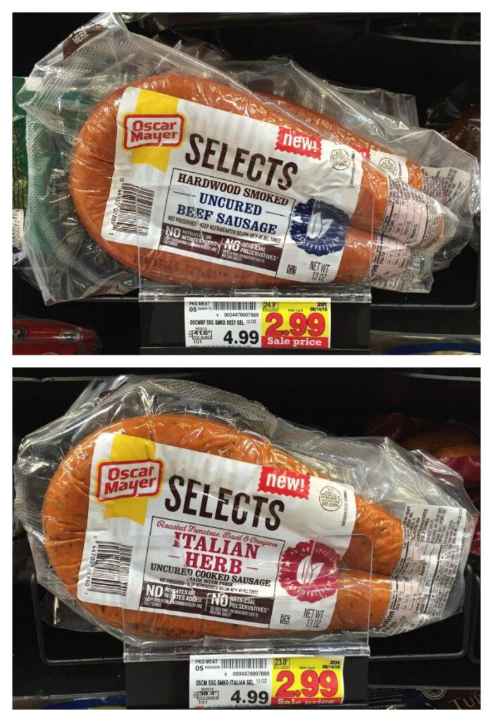 New Rare Kraft Coupons further New Get 1 00 Off One Oscar Mayer Select Dinner Sausage With This Printable Coupon additionally Pork additionally Incredibly Good Coupons Deals Miss Week together with Oscar Mayer Selects Sausages. on oscar mayer selects dinner sausage